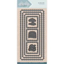Find It Trading- Card Deco Cutting Dies- Slimline Clouds CDECD0056