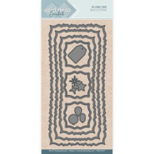 Find It Trading- Card Deco Cutting Dies- Slimline Balloons CDECD0057