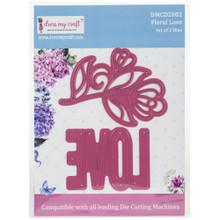 Dress My Craft Cutting Dies Floral Love