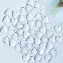 Dress My Craft Water Droplet Embellishments 100/Pkg Heart Droplets 3