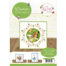 Find It Trading Creative Embroidery 26 Butterfly Touch- 8 Patterns with 8 3-D Scissor-Cut Images