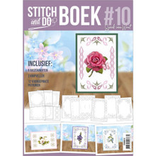 Stitch and do Book #10 with Embroidery Patterns & 3D Sheet STDOBB010
