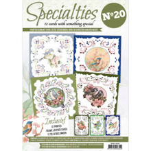 Hobbydots Specialties Number 20 Book Frame Layered Cards for Hobbydots (included) and Embroidery (sold separately)