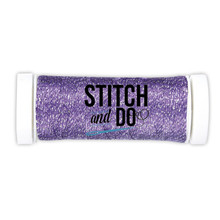 Stitch and Do Embroidery Sparkles Thread 120 m Roll- Violet SDCDS10