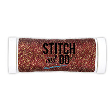 Stitch and Do Embroidery Sparkles Thread 120 m Roll- Christmas Red SDCDS09