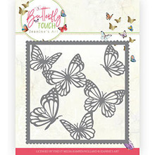 Find It Trading Jeanine's Art- Butterfly Touch- Butterfly Frame Cutting Die JAD10118