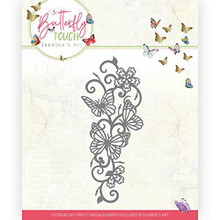 Find It Trading Jeanine's Art- Butterfly Touch- Butterfly Border Cutting Die JAD10121