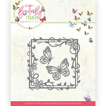 Find It Trading Jeanine's Art- Butterfly Touch- Butterfly Square Cutting Die JAD10122