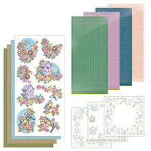 Find it Trading Hobbydots Sparkles Flowers and Birds Kit SPDO056