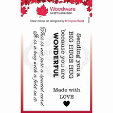 Woodware Clear Stamps - Big Hugs