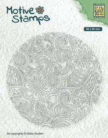 Nellie's Choice Motive Stamps- Flower Power