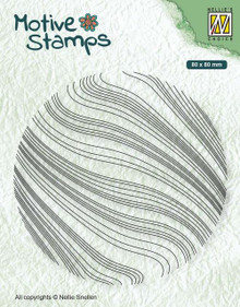 Nellie's Choice Motive Stamps- Waves