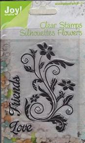 Joy Crafts Friends Flourish Clear Stamps 6410/0091