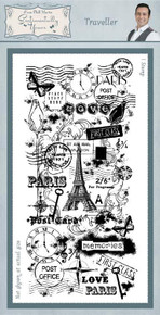 Sentimentally Yours Stamp- Traveller