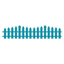 Couture Creations Die Cutting - Picket Fence