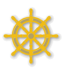 Couture Creations- Secret Treasures Collection- Ship's Wheel,