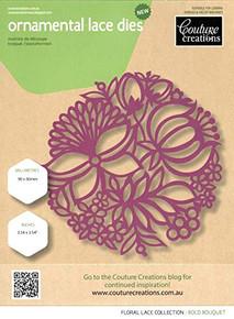 Couture Creations - Floral Lace - Bold Bouquet Dies