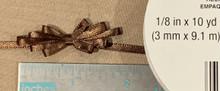 "Offray Satin - 1/8"" x 10YD Ribbon - BROWN"