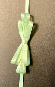 """Offray Satin - 1/8"""" x 10YD Ribbon - LIME JUICE"""