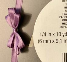 """Offray Satin - 1/4"""" x 10YD Ribbon AMETHYST"""