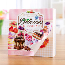 Hunkydory Crafts Square Little Book of Delicious Desserts- 150pgs LBSQ124