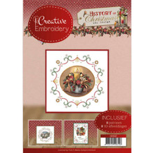 Find It Trading Creative Embroidery History of Christmas- 8 Patterns with 8 3-D Scissor-Cut Images