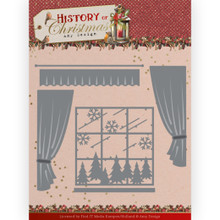 Find It Trading Amy Design- History of Christmas- Window With Curtains- metal die