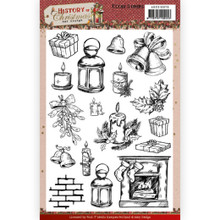 Find It Trading Amy Design History of Christmas A5 Clear Stamps ADCS10075