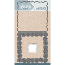 Card Deco - Find it Trading - Frame Card Snowflakes 4K Cutting Die CDCD10008