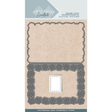 Card Deco - Find it Trading - Frame Card Snowflakes A5 Cutting Die CDCD10009