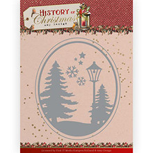 Amy Design History of Christmas - Christmas Landscape - Metal Die ADD10244