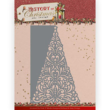 Amy Design History of Christmas - Lacy Christmas Tree - Metal Die ADD10246