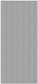 JEJE Peel Sticker- Thin Line Rounds 406 SILVER