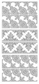 JEJE Peel Sticker- Small Corners 145 SILVER
