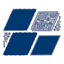 Tattered Lace Zara Lace Panel Cutting Die 482206