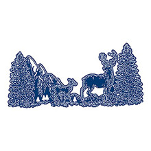 Tattered Lace Frosted Lace- Regal Reindeer Cutting Die 859792