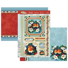 Hunkydory Crafts- Christmas Classic Luxury Topper Set- When Robbins Appear CLASSIC21-910