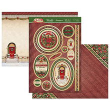 Hunkydory Crafts- Christmas Classic Luxury Topper Set- From Our Home to Yours CLASSIC21-905