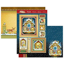 Hunkydory Crafts- Christmas Classic Luxury Topper Set- Christmas Time CLASSIC21-902