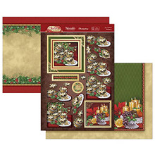 Hunkydory Crafts- Christmas Classic Luxury Topper Set- Eat, Drink & Be Merry CLASSIC21-904