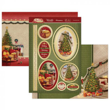 Hunkydory Crafts Christmas Classics Luxury Topper Set- Cosy By the Fire CLASSIC21-903