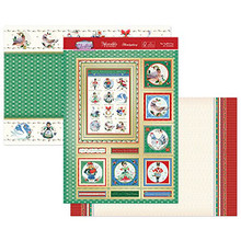 Hunkydory Crafts- Contemporary Christmas Luxury Topper Set- The Twelfth Day of Christmas ELEG21-908