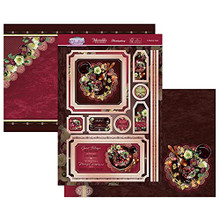 Hunkydory Crafts- Contemporary Christmas Luxury Topper Set- A Festive Treat ELEG21-901