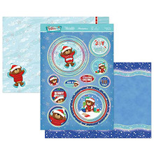 Hunkydory Crafts- Festive Fun Luxury Topper Set- Frosted, Fun & Furry CUTE21-904
