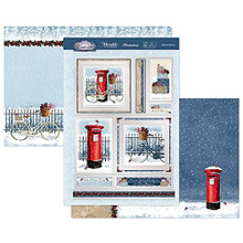 Hunkydory Crafts- Winter Wonderland Luxury Topper Set- Festive Delivery SNOWY21-905