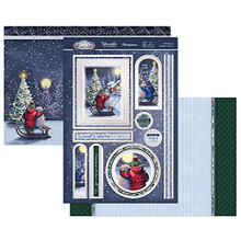 Hunkydory Crafts- Winter Wonderland Luxury Topper Set- Christmas is Perfect with You SNOWY21-903