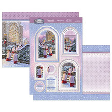 Hunkydory Crafts- Winter Wonderland Luxury Topper Set- O Come Let Us Adore Him SNOWY21-908
