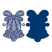 Tattered Lace Frosted Lace- Quilled Bell Cutting Die 859799