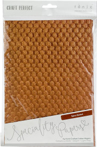 Craft Perfect A4 Handcrafted Cotton Papers - Spice Basket 9792E