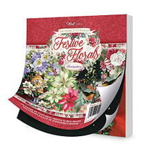 Hunkydory Crafts The A6 Square Little Book of Festive Florals